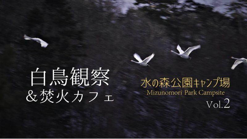 白鳥観察&焚火カフェVol.2